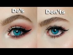DO's & DON'Ts for Hooded, Downturned eyes │MARIA ALEXANDRA - YouTube