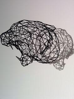 3d Printed Jaguar - Shapeways  Dutch Design Week 2014