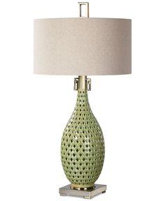 Uttermost Chamoru Glaze Table Lamp