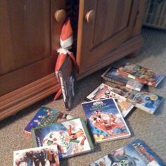 Christmas movies are Elf's favorite!