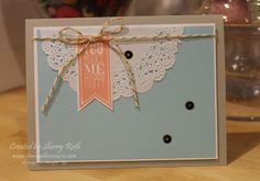 Sherry's Stamped Treasures: Perfect Pennants Card