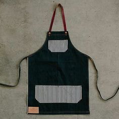 Detroit Denim: All-Purpose Apron in Selvedge Denim, Multiple Sizes Available Detroit Denim creates handmade products from 100% US sourced materials. We make a variety of denim and leather goods, including jeans, belts, bags, aprons, and accessories. Our shop is located in Corktown, Detroit's oldest neighborhood (you're always welcome to visit). We design our products to be simple, long lasting and improve with wear.