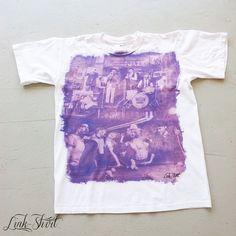 #tshirts #new #summer #2013 #handmade #madeinitaly #fashion #linkshirt #white #man #purple #vintage #pinup #50s #jazz #band