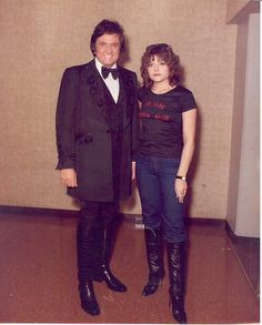Johnny Cash And His Daughter Rosanne. :)