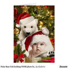 Shop Polar Bear Cub holding YOUR photo for Christmas Holiday Card created by Elydoric. Personalize it with photos & text or purchase as is! Christmas Frames, Christmas Holidays, Merry Christmas, Xmas, Holiday Cards, Christmas Cards, Christmas Ornaments, Holiday Decor, Baby Polar Bears