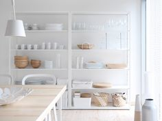 ikea fjlkinge shelf unit the long slender shelves give the shelving unit a light and airy look and the clean simple lines make it easy to combine