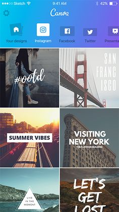 The Canva app makes professional level photo editing easy