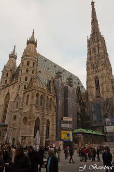 Las Fotografías de Bandera: Viena: A vista de pájaro desde la Catedral de San ...