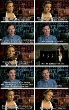 People throwing hissy fits about Mary shooting Sherlock and not being able to forgive her and see past your own prejudices against her, and see into the psychology and love and beauty of her character: you haven't been paying attention. This is why I love and adore Mary Watson. I've been paying attention.