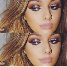 Everything about this is on point..make up, colors, and her!