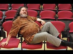 """Richard Stallman Free software vs. Proprietary software  - YouTube ~ --Richard Stallman, Founder and Leader of the free software movement, joins David to discuss his creation of the computer operating system """"GNU"""" and his skepticism over using proprietary software. He's interviewed by David Pakman."""