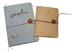 O-Check Design Schreibheft String, mit Verschluss