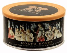 Sutliff - Molto Dolce pipe tobacco. Rich and creamy texture of vanilla, caramel and honey.