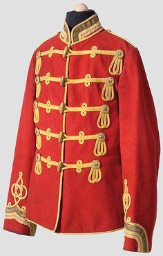 Tunic from the Life Guards Hussars German Uniforms, Military Uniforms, British Army Uniform, Uniform Dress, Austro Hungarian, Lifeguard, Empire, Military History, Tunic