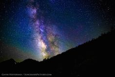 Photographer Gavin Heffernan snapped amazing night-sky photos, like this shot of the Milky Way, in Sequoia and Kings Canyon National Parks in June 2014.