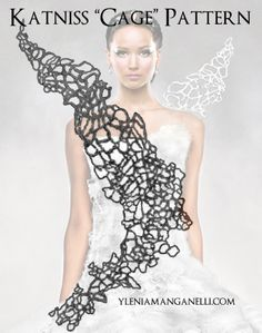 Katniss - Catching Fire - Hunger Games - Cosplay Costume - Cage Turorial and Resources Download here - http://princess-and-dragon.blogspot.it/2014/04/katniss-catching-fire-hunger-games.html