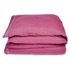 Coyuchi Simple Stitch Chambray Duvet Cover