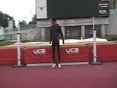 Warm up Standing Highjump over best height record High Jump, World Records, Norman, Wrestling, Warm, Amazing, Sports, Youtube, Sport