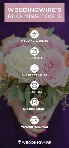 Recently engaged? Here are all the tools you need to plan your wedding smoothly!