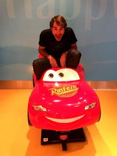 """""""Racing my way from Dubai to India for @iptl """""""