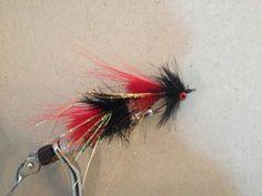 Pike fly I made.  2 size 1 hooks