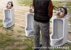 早逝的日本超寫實憂鬱派畫家:石田徹也 - 圖片28