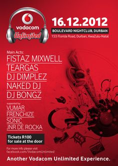 Vodacom Unlimited Experience - Durbantainment