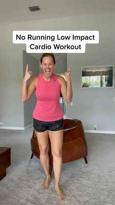 Basic Workout, Gym Workout For Beginners, Fitness Workout For Women, Low Impact Workout, Fitness Diet, Workout Videos, Cardio, Ab Workouts, Hiit