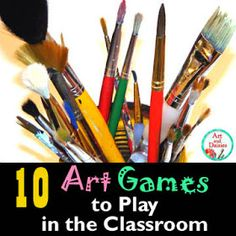 Art and Daisies: 10 Art Games to Play in the Classroom