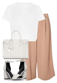 """""""Untitled #2755"""" by elenaday ❤ liked on Polyvore featuring Glamorous, Alexander Wang and Yves Saint Laurent"""