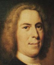 Nicolaus Ludwig von Zinzendorf, renewer of the church, hymnwriter, died 1760  When he was 22, a group of Moravians asked permission to live on Zinzendorf's land. He agreed, and eventually worldwide Moravian missions emanated from this community. Zinzendorf participated in these missions, and is also remembered for writing hymns characteristic of his Pietistic faith.