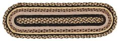 """Colfax Jute Stair Tread Oval 8.5x27"""" by Victorian Heart. $11.20. See Product Description below for more details!. Extensive line of matching items and accessories available! (Search by Collection name). High end quality and workmanship!. All cloth items in our collections are 100% preshrunk cotton. All braided items (like rugs, baskets, etc.) are 100% jute. Product measurements and additional details listed in title and/or Product Description below.. 100% Jute"""