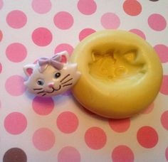 Kitten Silicone Push Mold / Craft Sugar by MoldsSweetTreasure, $2.95