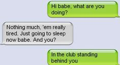 Funny text - Busted