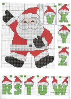 Thrilling Designing Your Own Cross Stitch Embroidery Patterns Ideas. Exhilarating Designing Your Own Cross Stitch Embroidery Patterns Ideas. Cross Stitch Heart, Cross Stitch Fabric, Cross Stitching, Cross Stitch Embroidery, Christmas Cross Stitch Alphabet, Christmas Letters, Cross Stitch Designs, Cross Stitch Patterns, Embroidery Alphabet