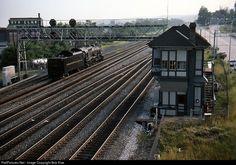 RailPictures.Net Photo: PRR 1361 Pennsylvania Railroad Steam 4-6-2 at Altoona, Pennsylvania by Bob Kise