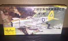 Heller THUNDERBOLT P-47N 1/72 Scale Plastic Model Kit- Factory Sealed! #Heller