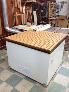 Diy Project Sanding Station And Dust Collection System