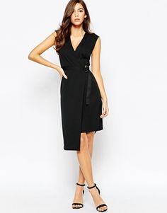 ASOS Crepe Wrap Dress