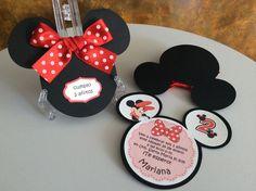 Minnie Mouse invitation