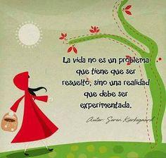 Vivir, disfrutar, amar, aceptar son verbos que nos hacen felices. rml