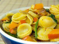 Orecchiette mit Kürbis-Rucola-Sauce | Kleiner Kuriositätenladen