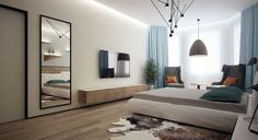 Avant-Garde Apartments feature the Latest Lines and Lighting [Visualized]