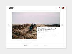 Blog post concept by Muhamad Reza Adityawarman