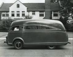 "[Like Part this has been expanded and updated] In the ""streamlined decade"" of the thirties, automotive aerodynamics was promoted as the great breakthrough to the modern high speed automobile, […] Station Wagon, Classic Trucks, Classic Cars, Step Van, Colani, Offroader, Cab Over, Cool Vans, Transporter"