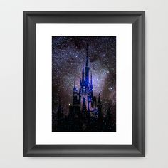Fantasy Disney Framed Art Print