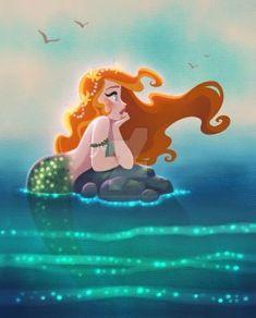 Sirena surcada por DylanBonner