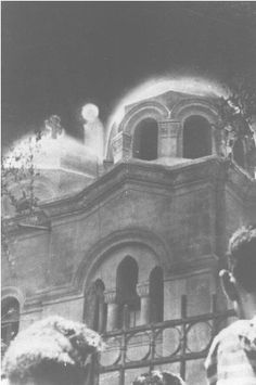 Another picture of Mother Mary appearing in  Egypt