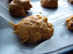persimmon cookie dough