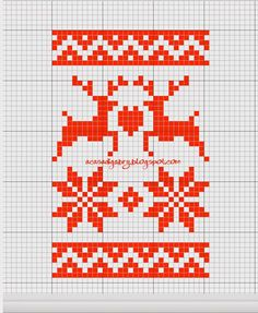 Discover thousands of images about Scandinavian Christmas cross stitch charts Xmas Cross Stitch, Cross Stitch Cards, Cross Stitch Borders, Cross Stitching, Cross Stitch Embroidery, Cross Stitch Patterns, Christmas Knitting Patterns, Christmas Embroidery, Knitted Christmas Stockings